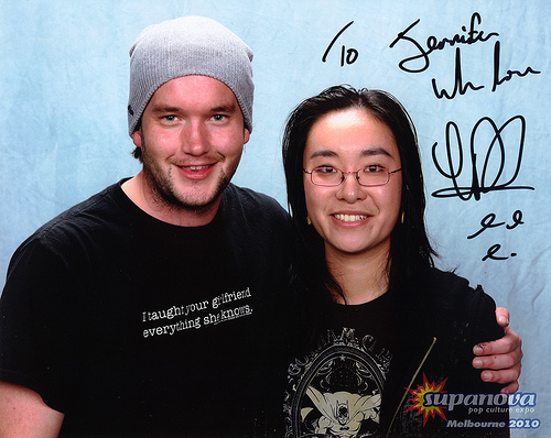Gareth David-Lloyd at Supanova