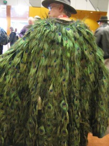 Rob transformed into a Peacock