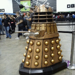 Lots of people lining up to be exterminated.