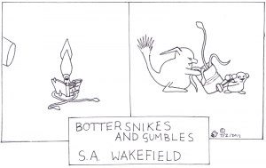Squid Ink meets the Bottersnikes
