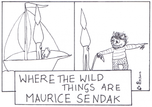 Squid Ink mourns the loss of Maurice Sendak