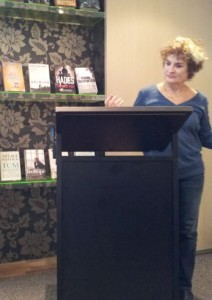 The exciting Judy Nunn, our special surprise guest. Can't wait to read her book.