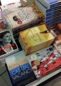 Found some of our own Trudi Canavan at the Tullamarine Airport book shop. She's in good company here.