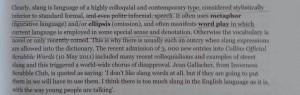 Definition of slang from Living Lingo by Kate Burridge, Debbie de Laps and Michael Clyne
