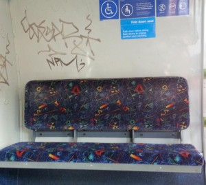 I totally agree, it is a fold down seat but does it fold up again?