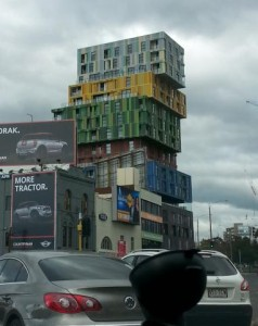 Container building?