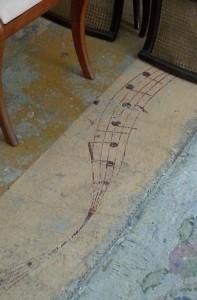 A very musical floor