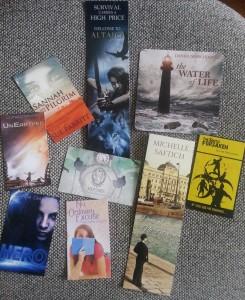 Odyssey Books paraphenalia
