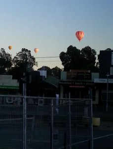 Balloons over Deakin