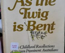 As the Twig is Bent – Terry Lane