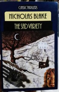 The Sad Variety by Nicholas Blake
